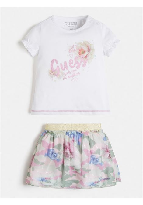 set 2 pezzi t-shirt e gonna in tulle GUESS kids | Set | A1RG14K6YW0TWHT