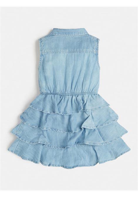 set 2 pezzi abito in denim e culotte GUESS kids | Set | A1RK07D3X30SLLB