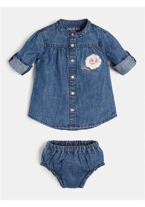 set 2 pezzi camicia e culotte in denim GUESS kids | Set | A1RK14D3GA0LLBS
