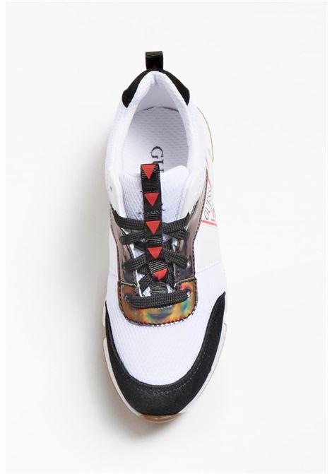 sneakers running multicolor GUESS kids | Scarpe | FI5RICESU12OFWHI