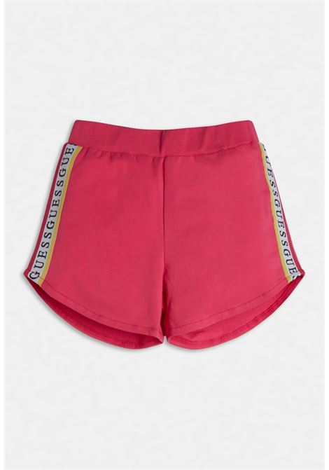 short in felpa sportivo fucsia GUESS kids | Gonna e Shorts | J1GD12KAE20JLPK