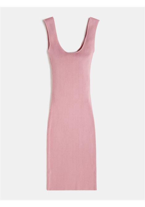 abito elasticizzato con spalline rosa GUESS kids | Abiti | J1GK40Z2U00G614