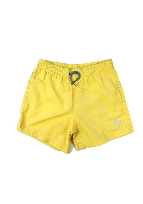 short mare giallo logo frontale giallo GUESS kids | Costumi | L1GZ01TEL27SNLT