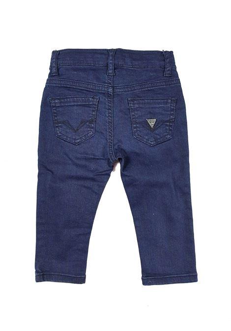 PANTALONE MODELLO 5 TASCHE BLU GUESS kids | Pantaloni | N0YB02WCTF0DEKB