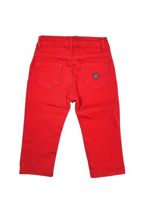 PANTALONE MODELLO 5 TASCHE ROSSO GUESS kids | Pantaloni | N0YB02WCTF0G503