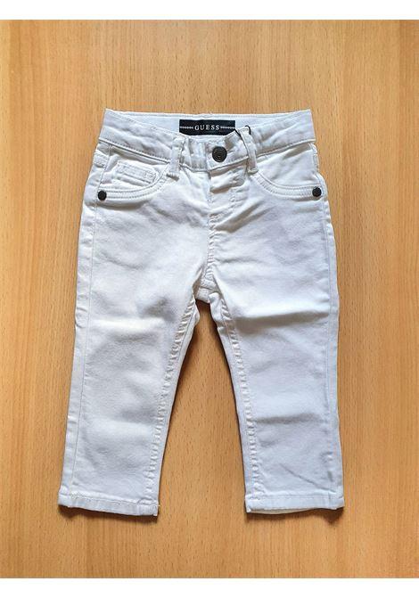 PANTALONE MODELLO 5 TASCHE BIANCO GUESS kids | Pantaloni | N0YB02WCTF0TWHT