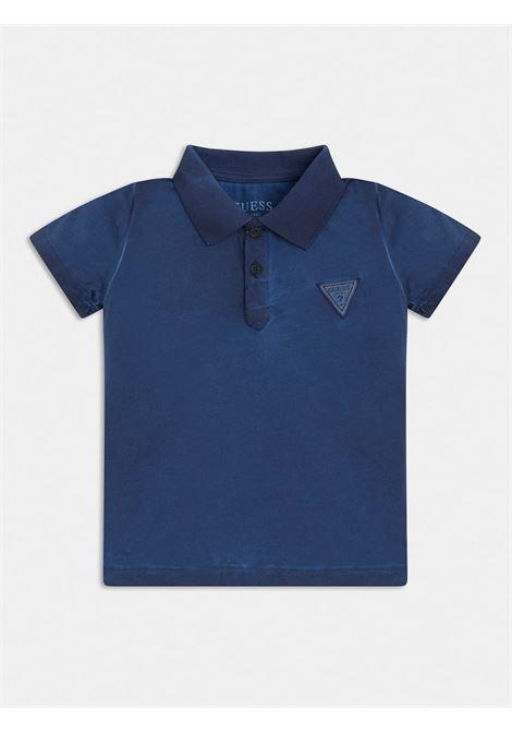 POLO PATCH JERSEY BLU GUESS kids | T-shirt | N1GP01K8HMOBLU