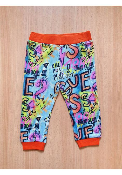 SET 3 PEZZI CON FELPA - BODY - PANTALONE GUESS kids | Set | P1RG03KA6W0WHITE