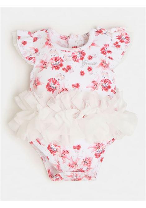 pagliaccetto rosa e fantasia floreale GUESS kids | Set | S1RG11KA6W0P569