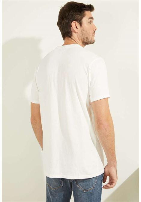 T-shirt bianca guess GUESS man | T-shirt | M0FP53RA260WHITE