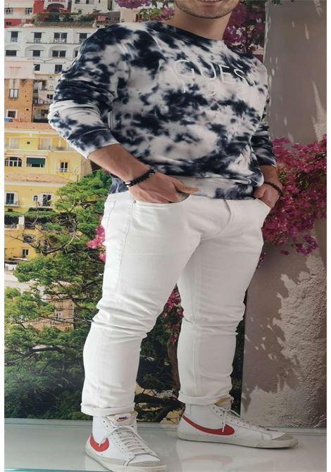 Pantalone bianco guess GUESS man | Pantaloni | M1GA27D4CK1WHITE