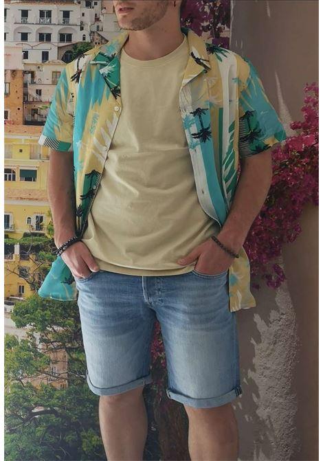 Camicia a fantasia guess GUESS man | Camicie | M1GH35WCT22VERDE