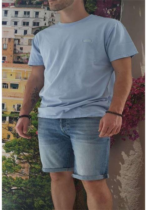 T-shirt celeste guess GUESS man | T-shirt | M1GI48K8FQ1CELESTE