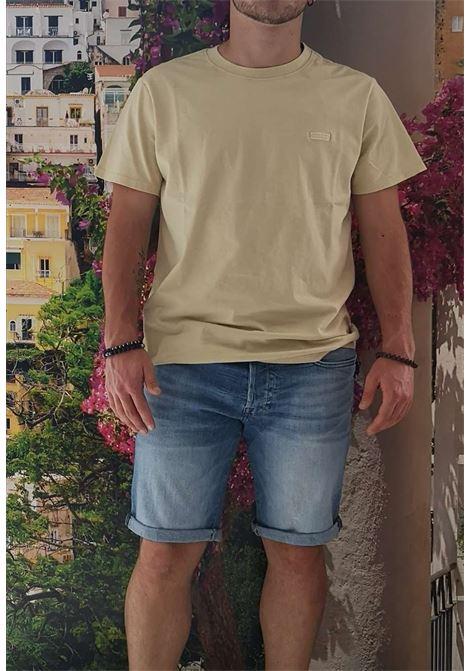 T-shirt gialla guess GUESS man | T-shirt | M1GI48K8FQ1GIALLO