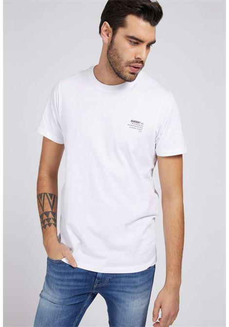 T-shirt bianca guess GUESS man | T-shirt | M1GI66K8HM0WHITE