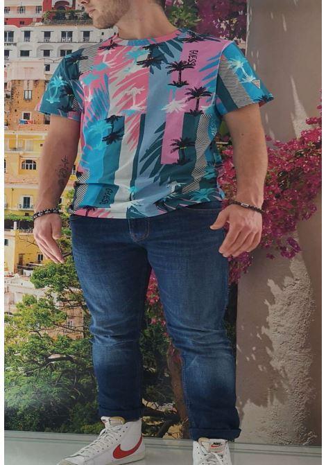 T-shirt a fantasia guess GUESS man | T-shirt | M1GI80I3Z00FANTASIA