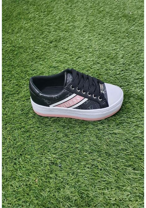 Sneaker nera guess GUESS SCARPE | Scarpe | FL6BRAELE12NERO