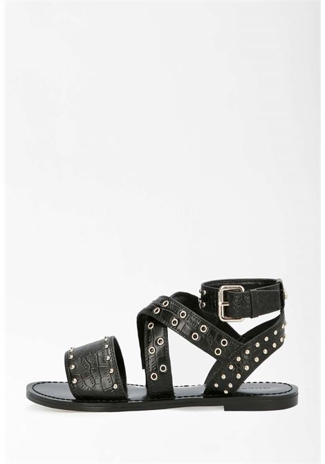 Sandalo nero guess GUESS SCARPE | Scarpe | FL6CVPEL03NERO