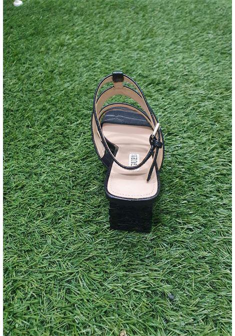 Sandalo nero guess GUESS SCARPE | Scarpe | FL6ML2PEL03BLACH