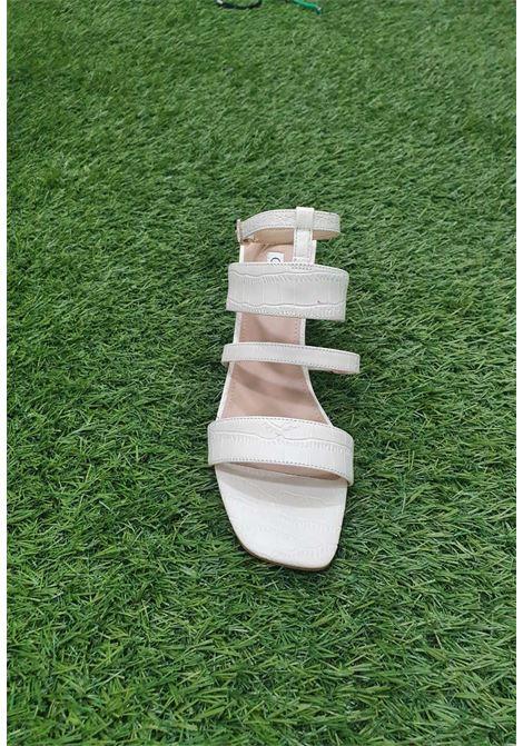 Sandalo panna guess GUESS SCARPE | Scarpe | FL6ML2PEL03CREMA