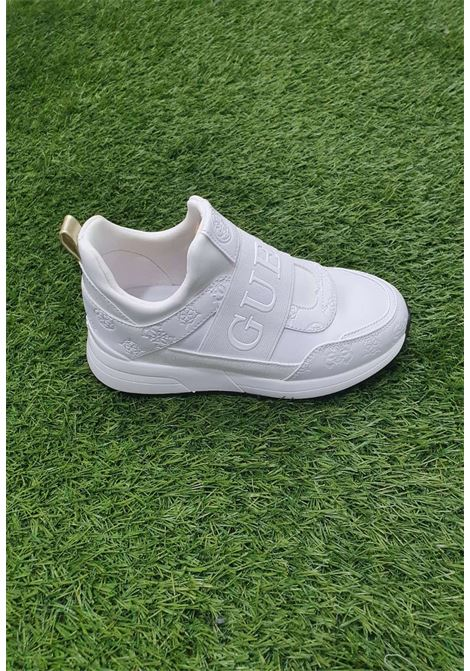 Sneaker bianca guess GUESS SCARPE | Scarpe | FL6MYIPEL12WHITE