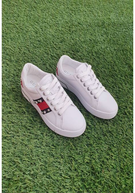 Sneaker bianca guess GUESS SCARPE | Scarpe | FL6R1CPAT12ROSSO