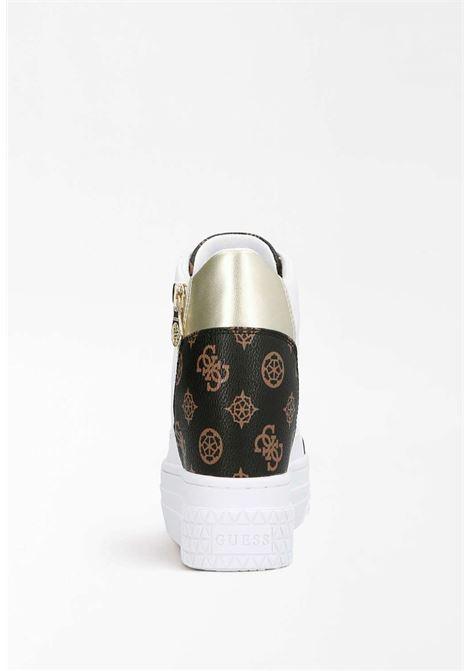 Sneaker bianca guess GUESS SCARPE | Scarpe | FL6RI2FAL12BIANCA
