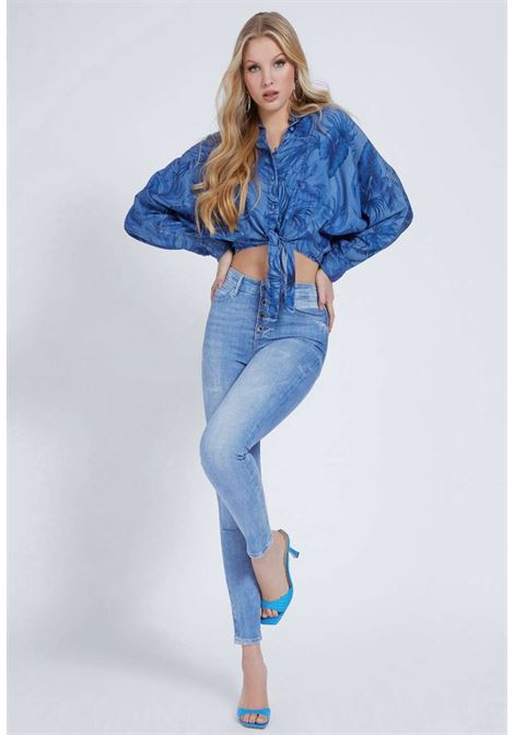 CAMICIA IN JEANS GUESS GUESS | Camicie | W1GH30D4D23OTHP