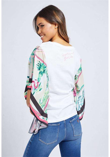 T-shirt bianca guess GUESS | T-shirt | W1GI1CJA900WHITE