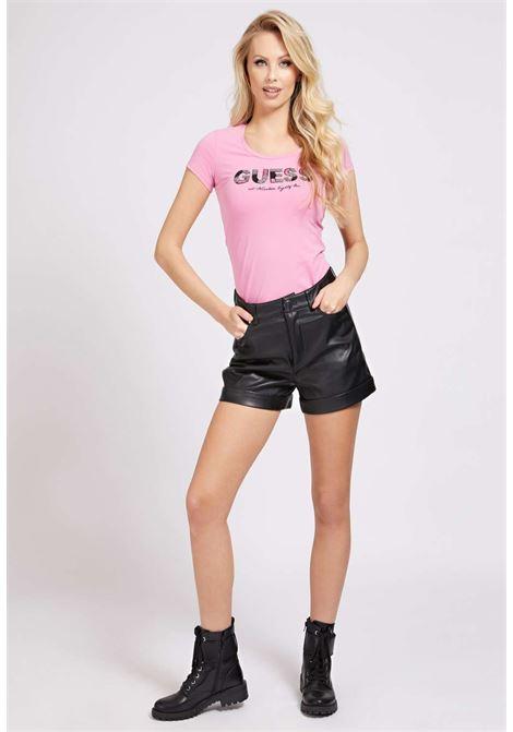 T-SHIRT ROSA GUESS GUESS | T-shirt | W1GI36J1300PINK