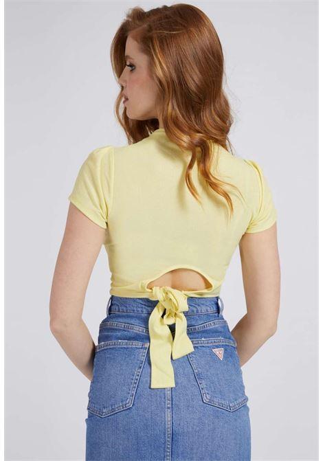 T-SHIRT GIALLA GUESS GUESS | T-shirt | W1GP17KANJOGIALLO