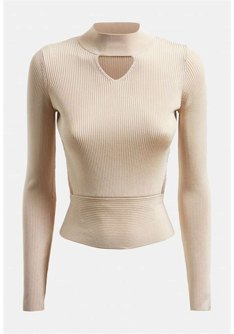TOP BEIGE A COSTINE GUESS GUESS | Top | W1GR17Z2NH0LATTE