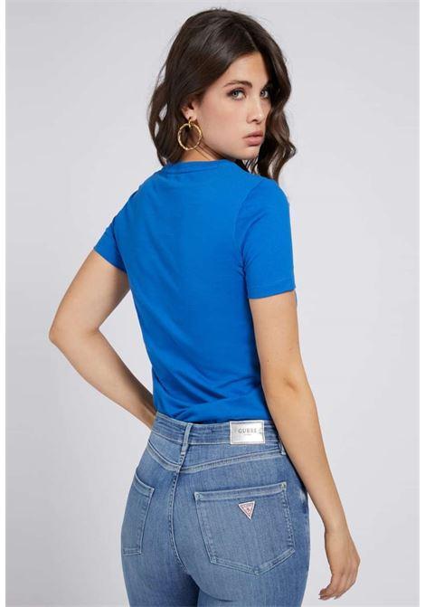 T-SHIRT BLU GUESS GUESS | T-shirt | W1RI25I3Z00BLUETTE