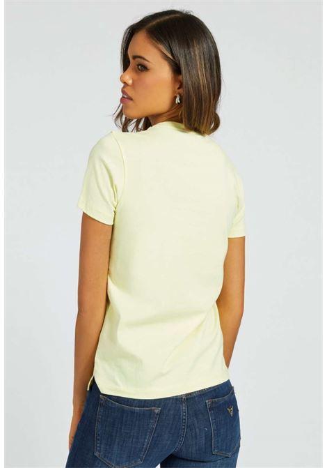 T-SHIRT GIALLA GUESS GUESS | T-shirt | W1RI25I3Z00GIALLO