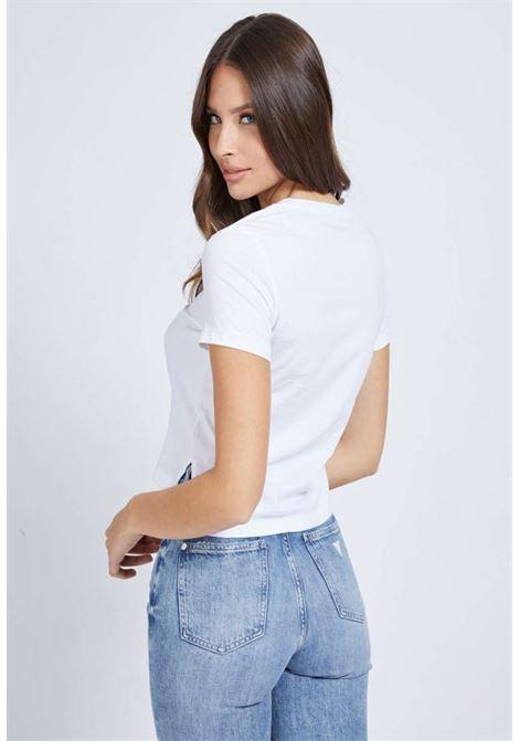 T-SHIRT BIANCA GUESS GUESS | T-shirt | W1RJ05JA900WHITE