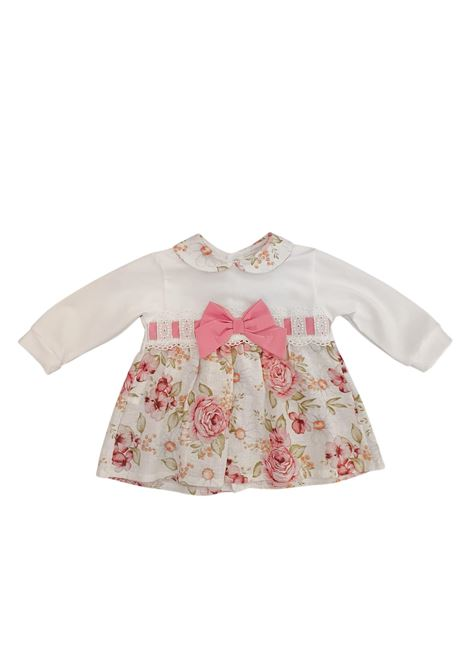 tutina due pezzi in cotone fantasia fiori juju bebe | Tutine | 210615UNI