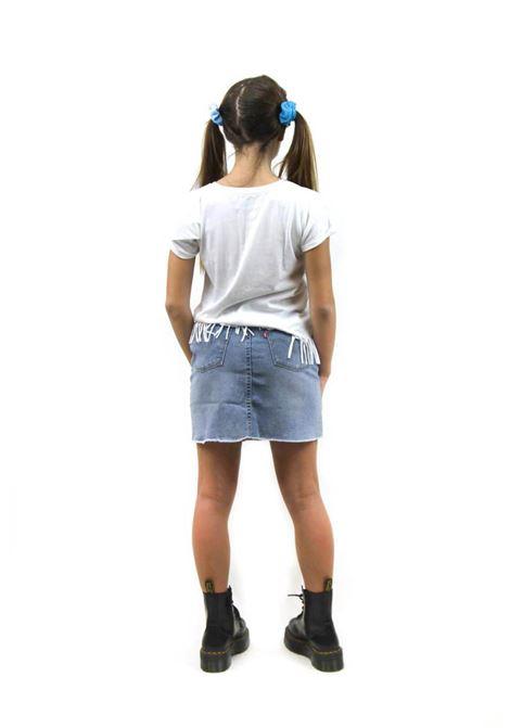 mini gonna in denim levis | Gonna e Shorts | 3E4890UNI