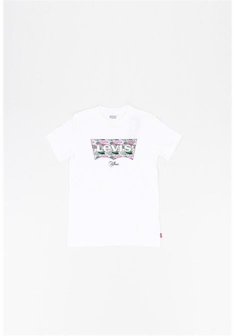 t-shirt mezza manica con logo frontale a fantasia levis | T-shirt | 9EC843UNI