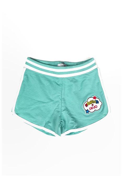 liu jo | Gonna e Shorts | 4B1375TX2140VERDE ACQUA