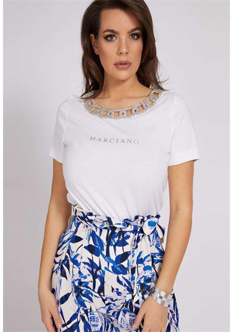 T-SHIRT BIANCA MARCIANO marciano guess | T-shirt | 1GG606K46D1WHITE