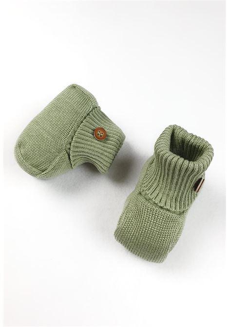 scarpe in cotone verde oliva marlu | Scarpe | ES60SUNI