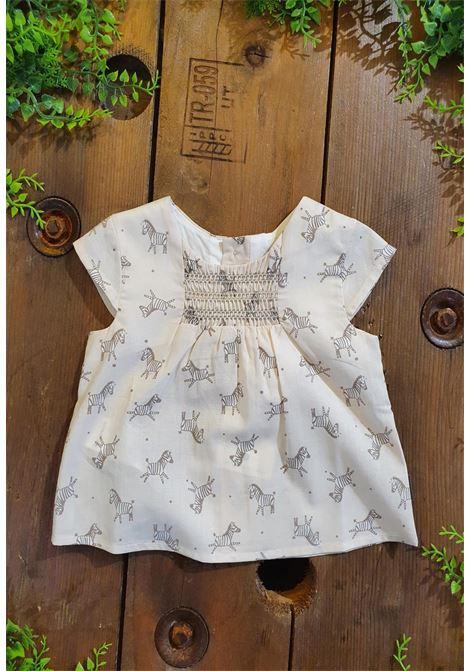 camicia in cotone con fantasia zebre tutto piccolo | Camicie | 1113UNI