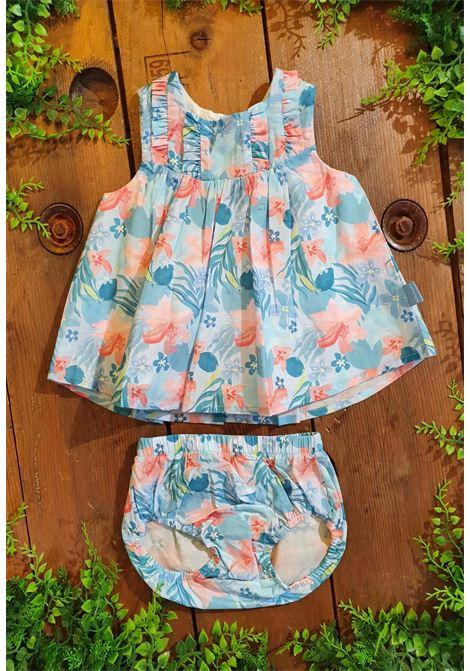 set abito e culotte fantsasia azzurro tutto piccolo | Abiti | 1220UNI