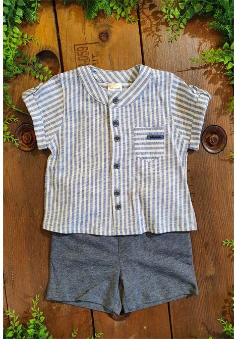 set camicia e short fantasia righe tutto piccolo | Completo | 1686UNI