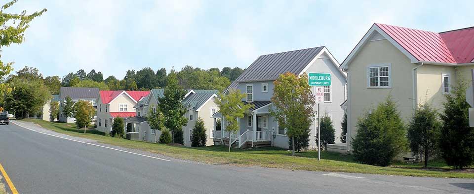 Image of Virginia Lane in Middleburg, Virginia