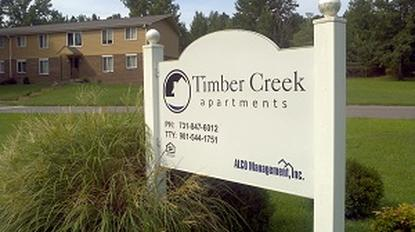 Image of Timber Creek Apartments in Camden, Tennessee