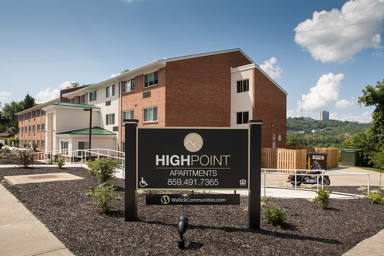 Image of Highpoint Apartments in Ludlow, Kentucky