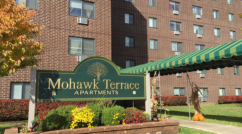 Image of Mohawk Terrace Apartments in Amsterdam, New York