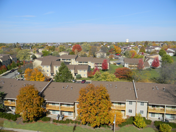 Image of University Village Apartments I & II in Dekalb, Illinois