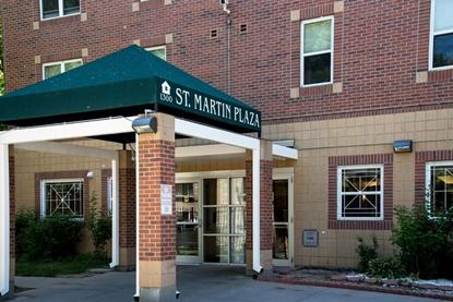 Image of St Martin Plaza in Denver, Colorado